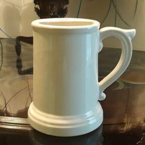Vintage ceramic McCoy Mustache mug.